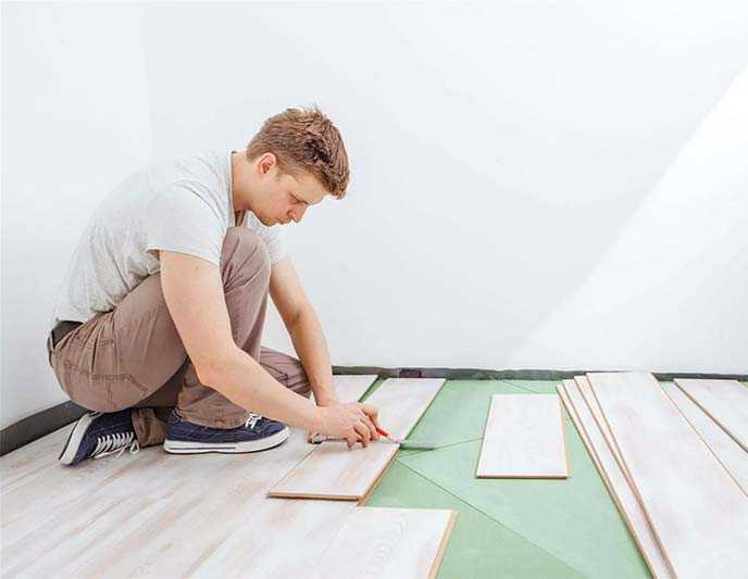 Expert install woodfloor